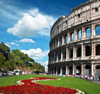 Colosseum & Roman Forum and Palatine Package - Colosseum Spring Time.JPG