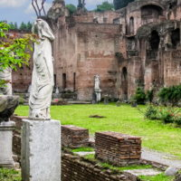 Colosseum and Ancient Rome Walking Tour - Rome, Italy - Roman Forum-Vestal Virgins.JPG
