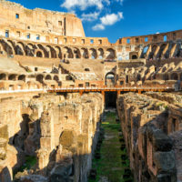 Ancient Rome Tour with Colosseum Underground - Arena Colosseum (Coliseum) in Rome..JPG
