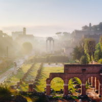 Colosseum and Ancient Rome Walking Tour - Roman Forum, Rome's historic center, Italy.JPG