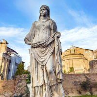 Colosseum and Ancient Rome Walking Tour - House of the Vestals - Rome, Italy..JPG