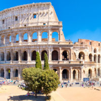 Colosseum and Ancient Rome Walking Tour -The Colosseum, a symbol of antiquity and of the city of Rome.JPG