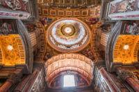 Saint Peter Basilica Self-Guided Tour - interiors and architectural details of Basilica of saint Peter-Vatican City Map.JPG