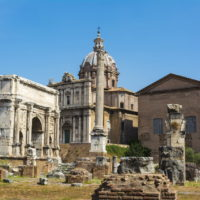 Colosseum and Ancient Rome Walking Tour - Arch of Septimius Severus and the Curia in Roman Forum, Rome.JPG
