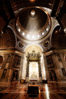 Saint Peter Basilica Self-Guided Tour-Inside the St. Peter Basilica, Vatican.JPG