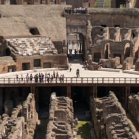 Colosseum Priority Entrance + Arena Floor, Roman Forum and Palatine Hill - inside the Colosseum in Rome. Great architectonical landmark. (2).JPG