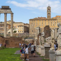 Colosseum & Roman Forum and Palatine Package- Roman Forum - House of the Vestals.JPG