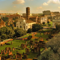 Colosseum & Roman Forum and Palatine Package - The Forum Romanum in Rome. Italy.JPG