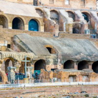 Seating in the Colosseum - Colosseum & Roman Forum and Palatine Package.JPG