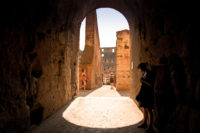 Ancient Rome Tour with Colosseum Underground -  Indoor view of the Colosseum in Rome..JPG
