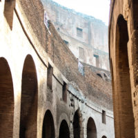 Ancient Rome Tour with Colosseum Underground - From the caverns below the Roman Coliseum..JPG