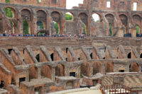 Small Group Colosseum and Roman Forum Guided Tour - Colosseum, Coliseum or Coloseo, Flavian Amphitheatre largest ever built symbol of ancient Roma city in Roman Empire..JPG