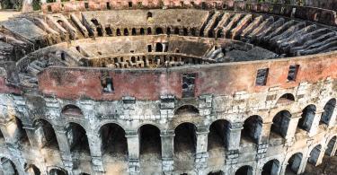 Colosseum Miniature Model
