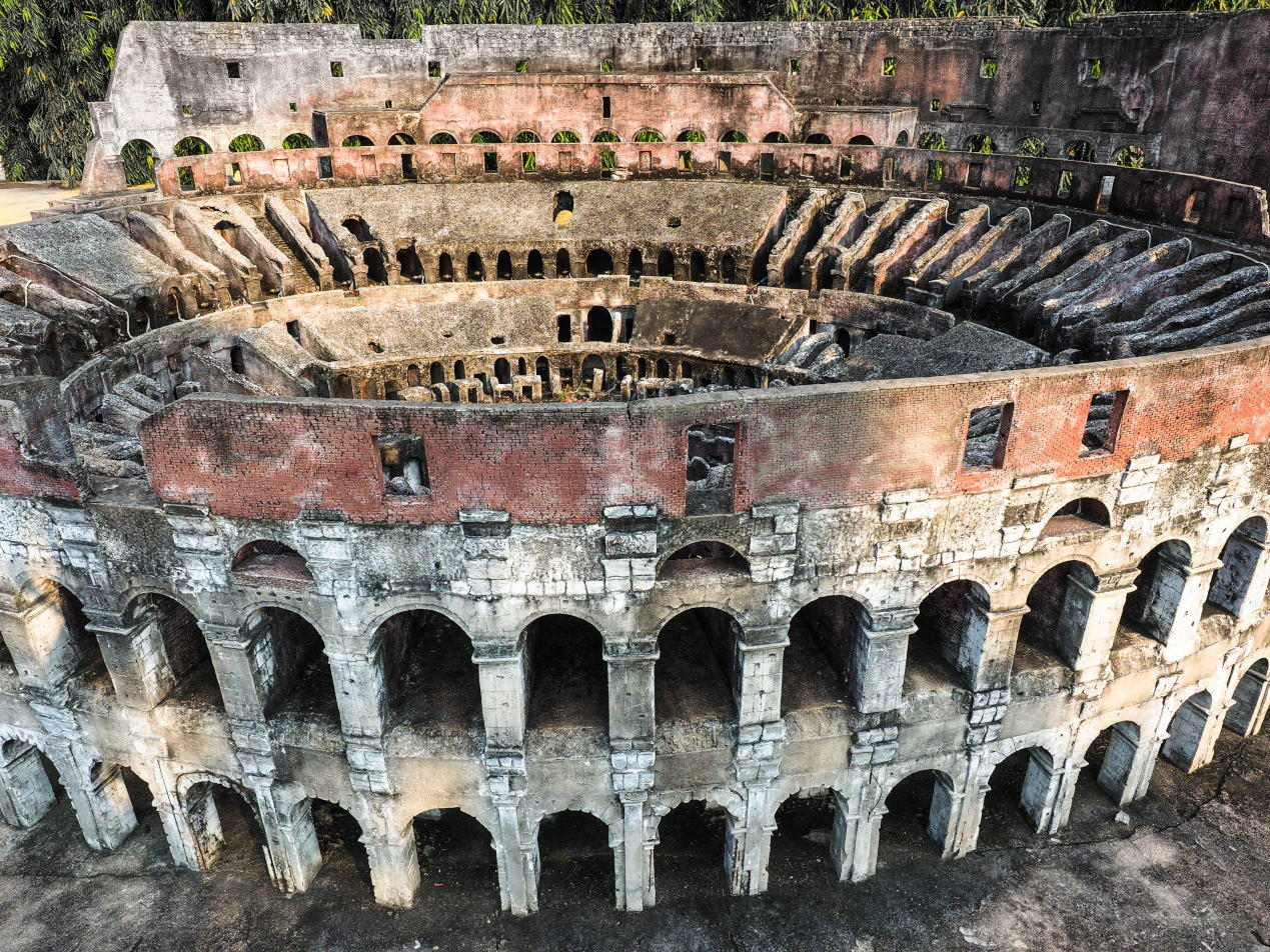 Colosseum Miniature Model