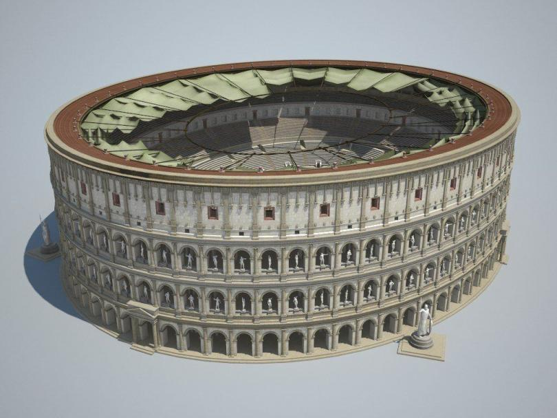 Colosseum 3d Model