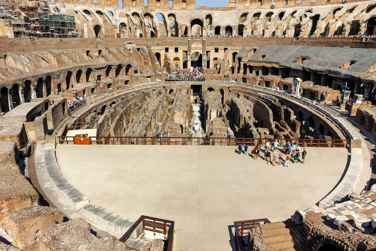 Colosseum Capacity