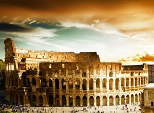 Colosseum Facts- Colosseum in Rome, Italy