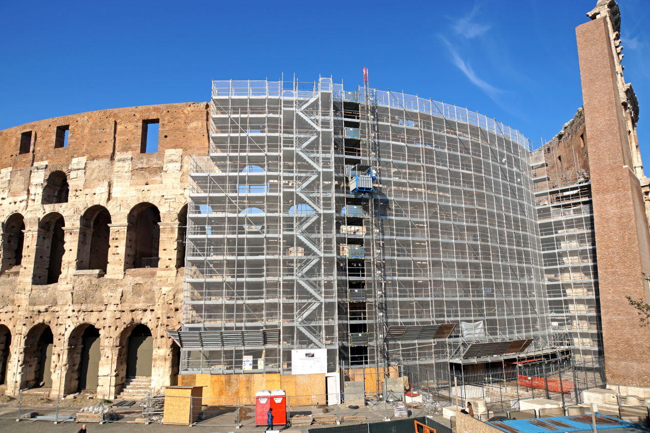 Colosseum Restoration