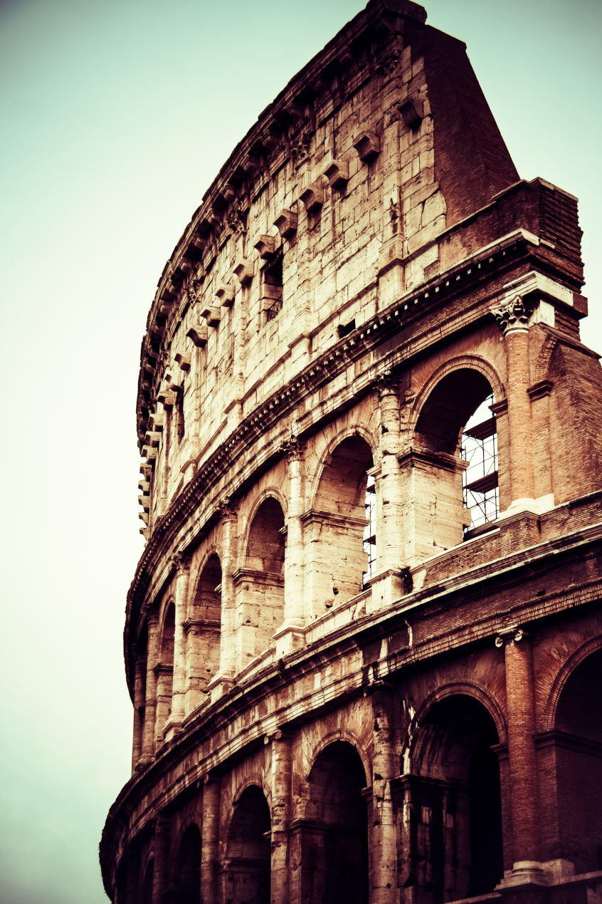 Who is the Colosseum's Architect - Colosseum, Rome, Italy