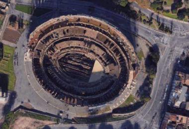 colosseum google maps