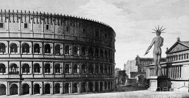 1831 Photograph - Rome Colossus Of Nero by Granger