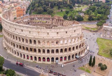 Colosseum Aerial Views