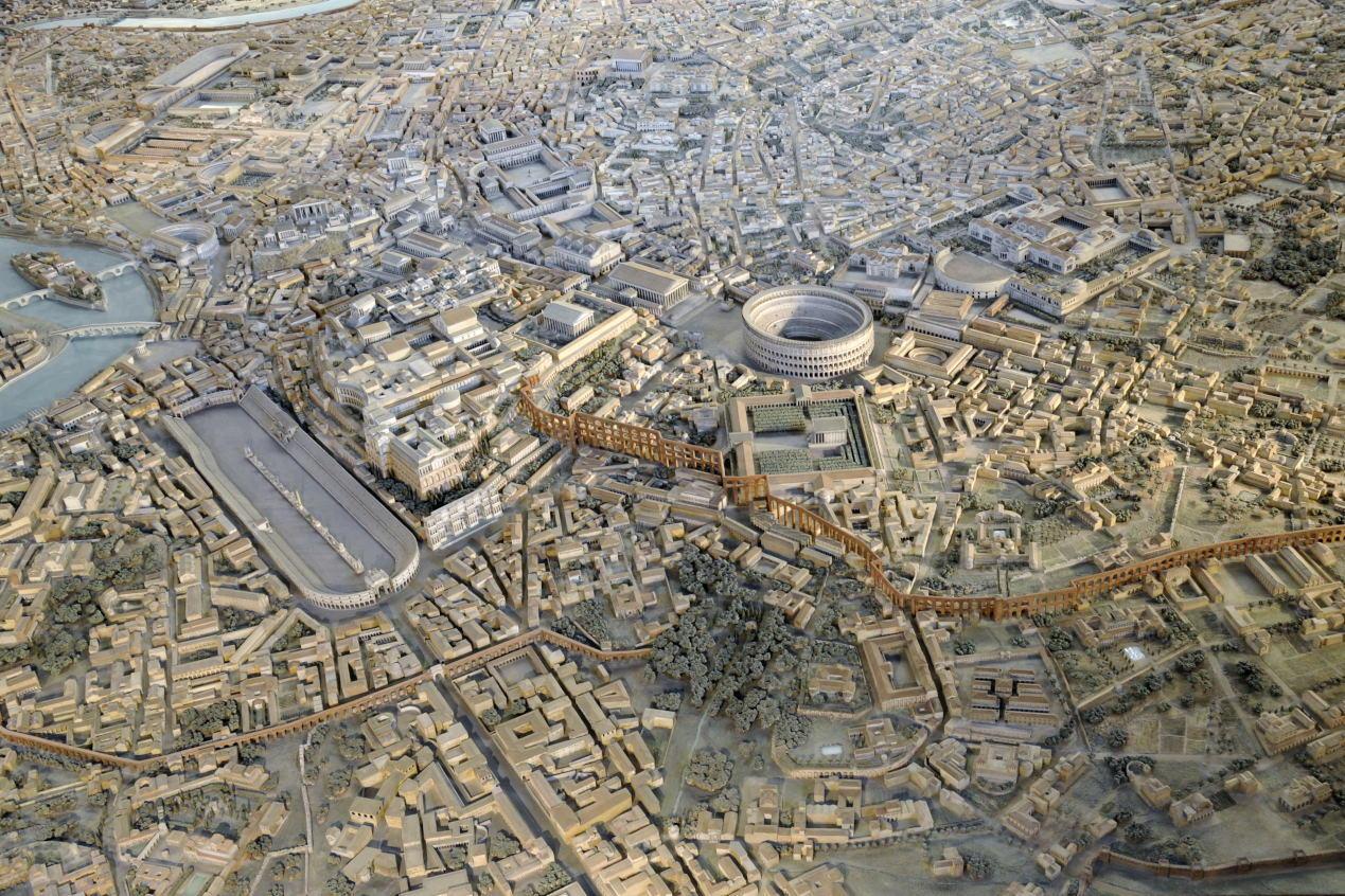 Ancient Rome-model