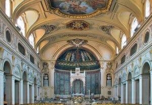 Interior of Basilica di Santa Cecilia