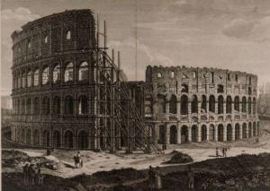 Abandonment and reuse of the Colosseum