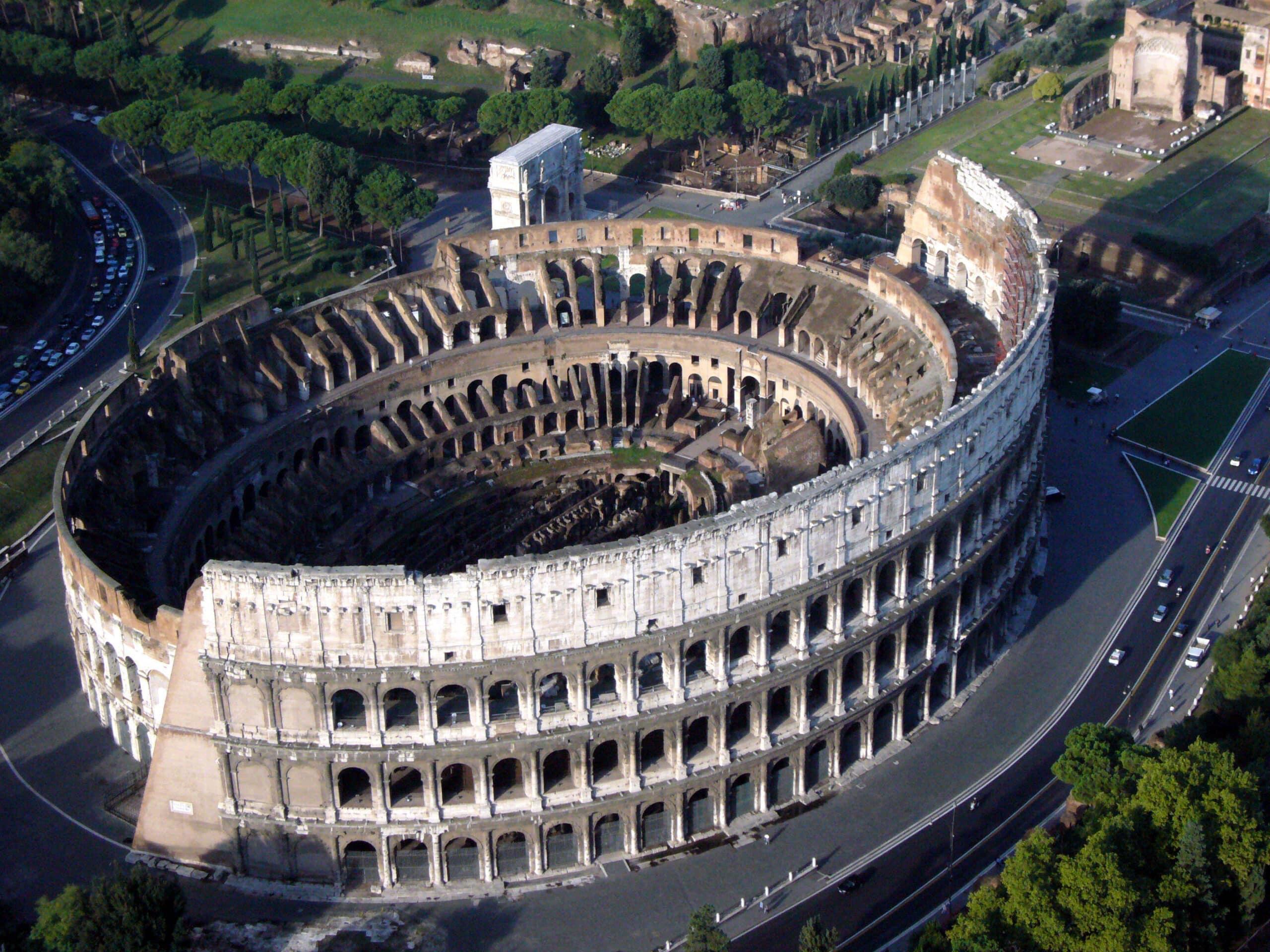 Colosseum - Aerial View