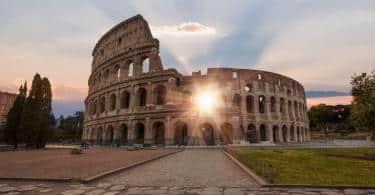 Colosseum amphitheater in Rome