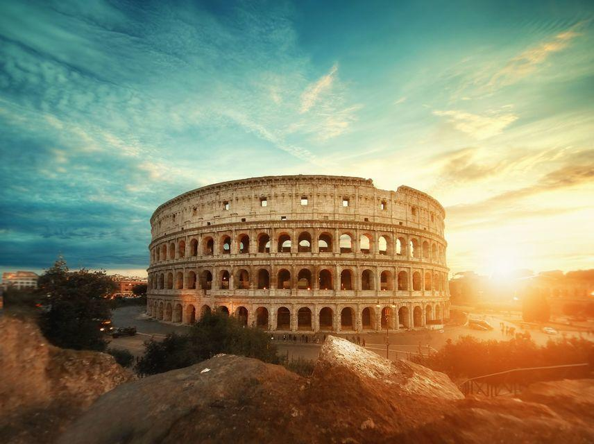 Colosseum at Sunrise