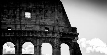 Colosseum in Rome Italy , daylight.