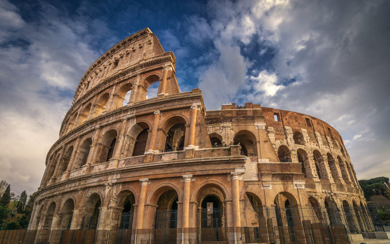 Colosseum in Rome..
