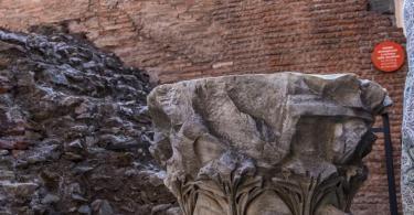 Column Detail, Colosseum, Rome