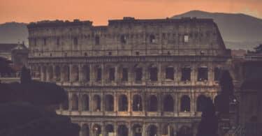 Lovely Sunset, Colosseum