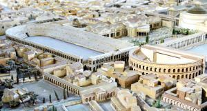 Model of Ancient Rome- stadium of Domitian