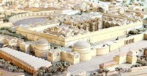 Model of Ancient Rome the Diocletianus Baths