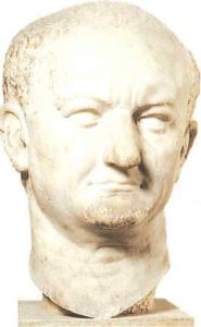 Portrait head of Vespasian ftom Ostia, Rome, Museo Nazionale Romano