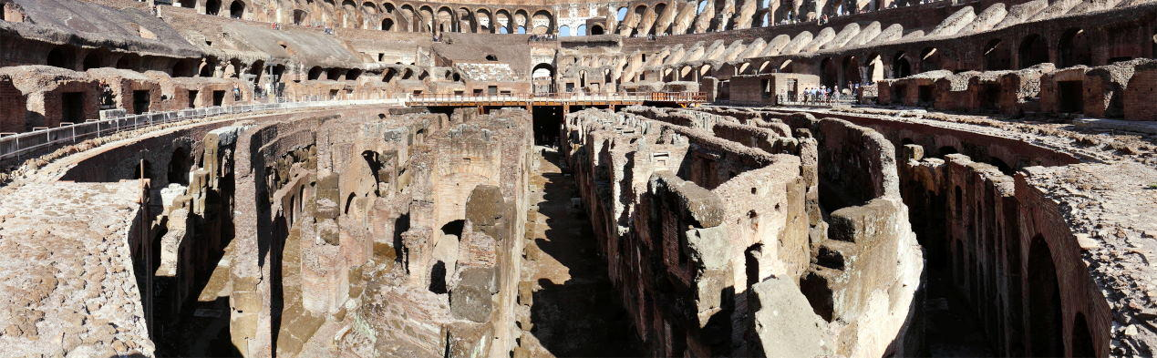 hypogeum of colosseum