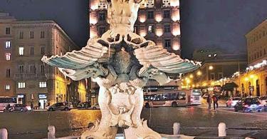 Triton Fountain-