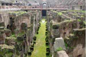 Underground of the Colosseum