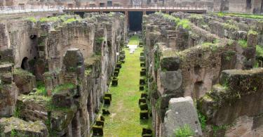 Underground of the Colosseum