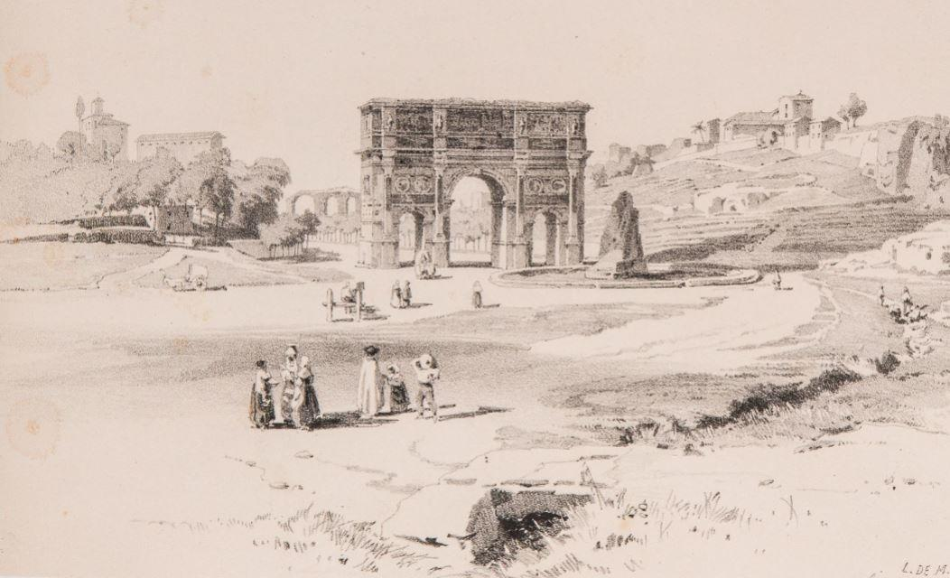 Arch of Constantine and Meta Sudans