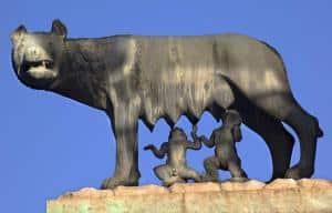 Capitoline Wolf Romulus Remus - Capitoline