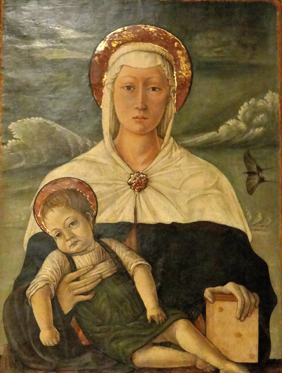 Francesco di Gentile - the 'Madonna of the Butterfly' - Vatican Art Gallery