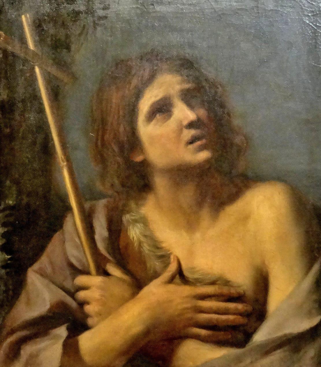 Giovan Francesco Barbier (1591-1666) - St. John the Baptist - Vatican Art Gallery