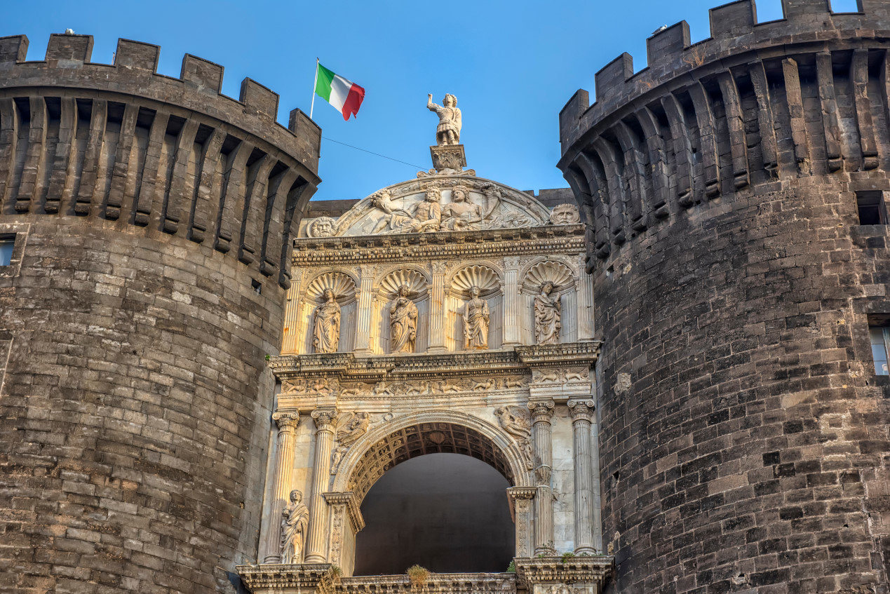 how to get from rome to naples italy