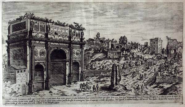 Meta Sudans. Du Perac (16th c.)