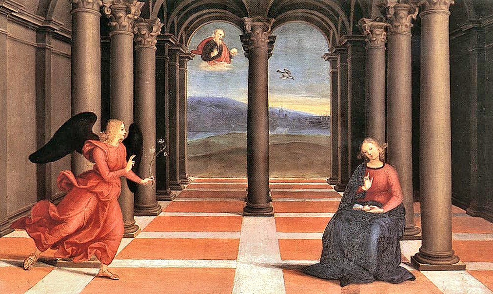 Raphael - The Annunciation - Art Gallery of Vatican